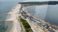 FEATURE - Bald für unter 400'000 Pfund nicht mehr zu haben: Die Preise für Strandhütten in Dorset steigen weiter