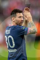 FUSSBALL - Lionel Messi gibt sein Debüt bei PSG