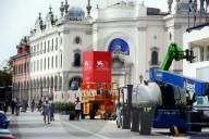 PEOPLE - Filmfestival Venedig: Vorbereitungen