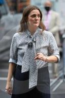 PEOPLE - Drew Barrymore bei Dreharbeiten in New York