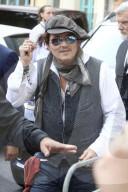 PEOPLE - Johnny Depp bei der Premiere des Kinofilms 'Minamata' auf dem Filmfestival Karlovy Vary