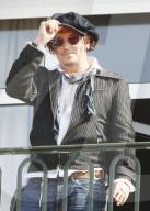 """PEOPLE - Johnny Depp bei der Vorführung von """"City of Lies"""" am Filmfestival in Deauville"""