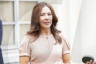 ROYALS - Mary, Kronprinzessin von Dänemark, an Design Woche in Mailand