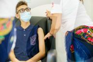 NEWS - Coronavirus: COVID 19-Impfungen für über 12-jährige Teenager in Viana do Castelo, Portugal