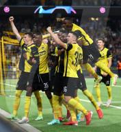 FUSSBALL - Young Boys siegen gegen Manchester United in Bern