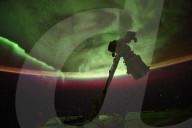 FEATURE - ESA-Astronaut macht atemberaubende Aufnahmen von Polarlichtern