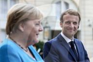 NEWS - Abschiedsbesuch von Angela Merkel bei Macron in Paris