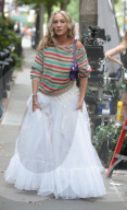 """PEOPLE -  Sarah Jessica Parker am Set von """"And Just Like That"""""""