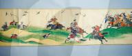 FEATURE - Japanische Kriegskunst auf 15 Metern: Im Birmingham Museum wird erstmals eine Kunstrolle ausgestellt
