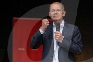 NEWS - Wahlkampf: Olaf Scholz in Soltau