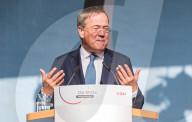 NEWS - Armin Laschet auf Wahlkampftour in Fulda