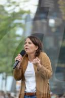 NEWS - Wahlkampftour: Annalena Baerbock in Freiburg
