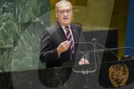 NEWS - Der Schweizer Bundespräsident Guy Parmelin spricht vor der UNO