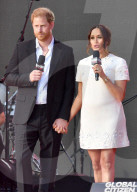 PEOPLE -  Prinz Harry und Meghan bei Global Citizen Live, New York