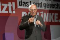 NEWS - Bundestagswahl 2021: Gregor Gysi bei der Wahlparty der Partei Die Linke