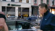 """PEOPLE -  David Hasselhoff am Set zu Dreharbeiten für die Serie """"Ze Network"""" in Goerlitz"""