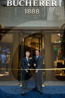 PEOPLE - Bucherer 1888 TimeMachine Grand Opening Cocktail Event in New York