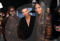 """PEOPLE - Backstage bei """"Balmain"""" an der Paris Fashion Week"""