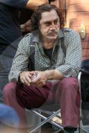 PEOPLE - Javier Bardem bei den Dreharbeiten zu Lyle, Lyle, Crocodile