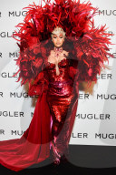 """PEOPLE - Cardi B am """"Thierry Mugler: Couturissime"""" Photocall"""
