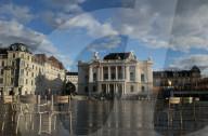 NEWS - Der Sechseläutenplatz und das Opernhaus während dem ZFF Zurich Film Festival