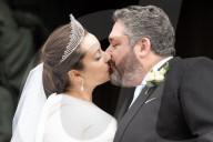 ROYALS - Hochzeit von Grossfürst Georg Michailowitsch und Rebecca Bettarini in St. Petersburg