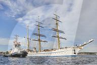 NEWS - Die Gorch Fock ist zurueck in ihrem Heimathafen Kiel