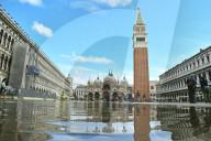 NEWS -  Das erste Hochwasser der Herbstsaison in Venedig