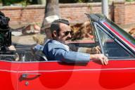 "PEOPLE - Justin Theroux und Woody Harrelson bei den Dreharbeiten zu ""The White House Plumbers"""