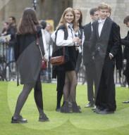 ROYALS - Prinzessin Elisabeth von Belgien nach ihrer Immatrikulationsfeier an der Universität Oxford