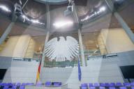 NEWS - Deutscher Bundestag: Herrichtung des Plenarsaals für die 20. Legislaturperiode