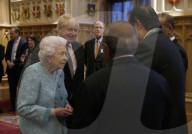 ROYALS - Queen Elizabeth empfängt die Teilnehmer der Global Investment Conference auf Schloss Windsor