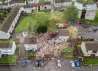 NEWS - Der Morgen danach: Der Explosionsort im schottischen Ayr