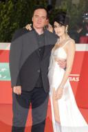 PEOPLE - Rom: Quentin Tarantino und Ehefrau Daniella Pick bei der Verleihung des Lifetime Achievement Award