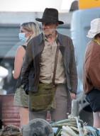 "PEOPLE -  Harrison Ford bei den Dreharbeiten zu ""Indiana Jones 5"" in Sizilien"