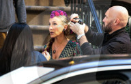 """PEOPLE -  Auf dem Filmset von """"And Just Like That"""" in NYC"""